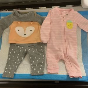 Carters/target newborn outfits